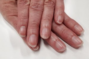Get a professional IBX treatment for your natural nails